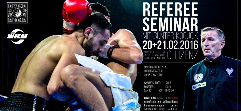 Kampfrichterseminar