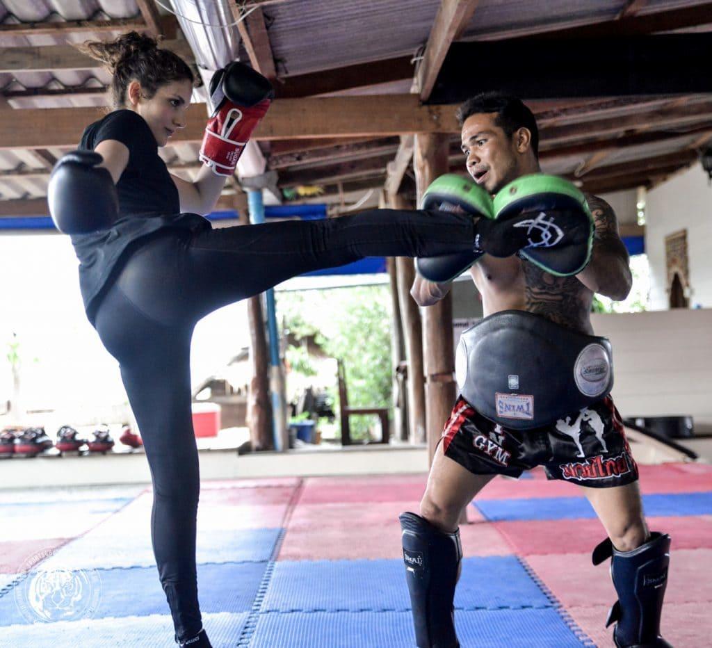Muay Thai Gym Thailand Camp Pool Girls Women Man traditional Muay Thai
