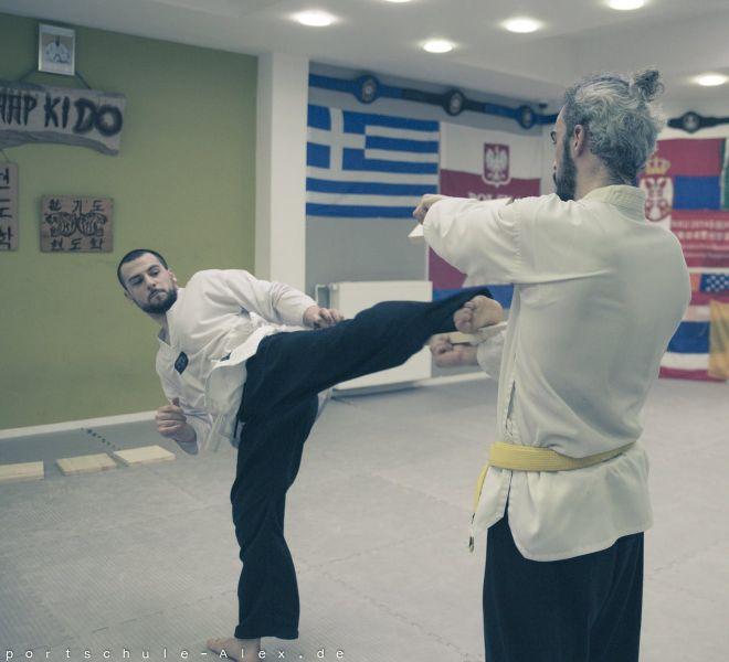 Taekwondopruefung Diamantis & Onur 2017-8255