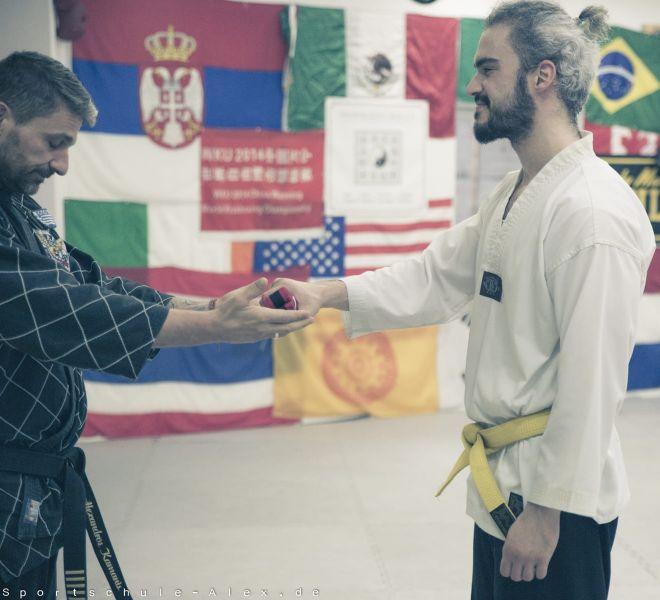 Taekwondopruefung Diamantis & Onur 2017-8269