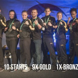Kampfsport WM 2017 Irland: Sportschule Alex ist die erfolgreichste Schule im Ringsport.
