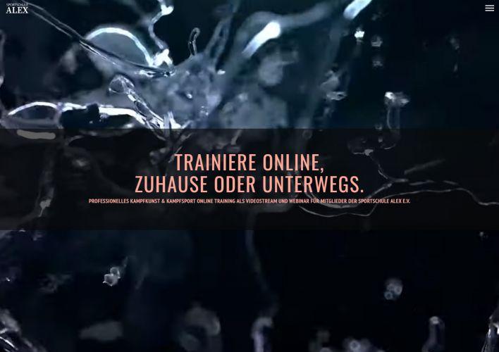 Kampfkunst und Kampfsport Online Training Trailer