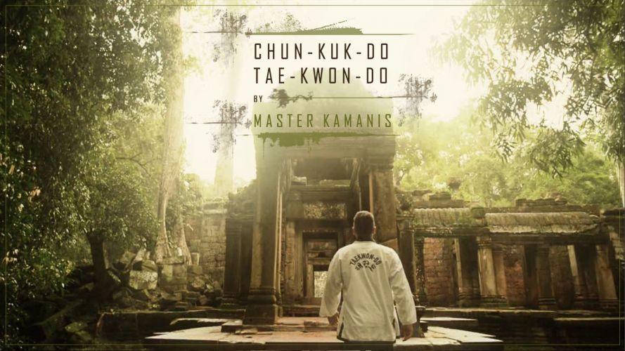 Taekwondo in Angkor Wat – Kambodscha